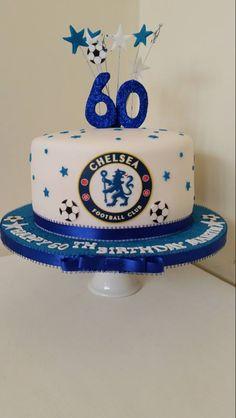 Chelsea football birthday cake