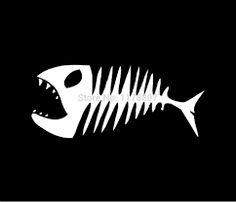 Resultado de imagem para esqueleto de peixe