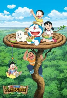 Doraemon The Wonderland 2014 : New Nobita's Great Demon—Peko and the Exploration Party of Five Doremon Cartoon, Friend Cartoon, Cartoon Movies, Cartoon Characters, Doraemon Wallpapers, Hd Cool Wallpapers, Cartoon Wallpaper Hd, Disney Wallpaper, Friends Wallpaper