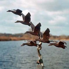 Kunst - brons beeld - Jonneke Kodde - Dalende vlucht