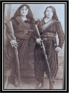 """""""Female Fedayis…  To fight in defense of what is right, is not a calamity but a blessing. Even today, an Armenian woman will not hesitate to sacrifice her own life to protect HOMELAND!!!"""""""