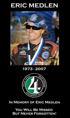 John Force Racing - The Official Website Rest In Peace Eric. Hope there's a lot of ice cream. :-)