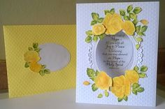 Love these beautiful Vintage Roses stamp set from Altenew
