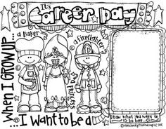 Career Day Coloring Pages 4152