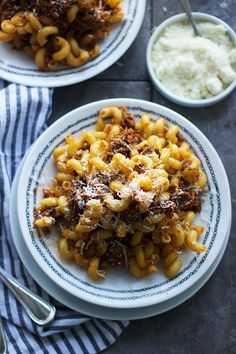Beer and Balsamic Braised Pork Cavatappi - Cooking for Keeps