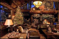 One year I will spend Christmas in a cabin!