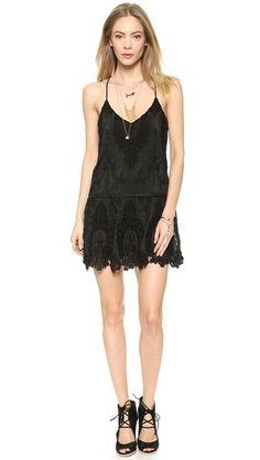 Saylor June Lace Mini Dress