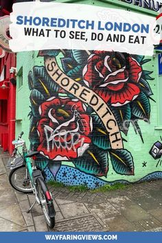 Find the coolest things to do in Shoreditch London. Get suggestions for finding street art, exploring Brick Lane, cool food and recommended Shoreditch hotels. London What To See, Things To Do In London, London Travel, Travel Uk, Travel England, Europe Travel Guide, Travel Guides, Travel Destinations, Travel Tips