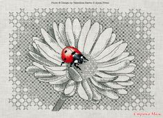 Ladybug (blekvork) - Embroidery and everything about it - the Country Mom
