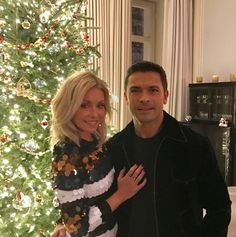 Kelly Ripa and Hubby, Mark Consuelos, Spend the Day Co-Hosting and Partying