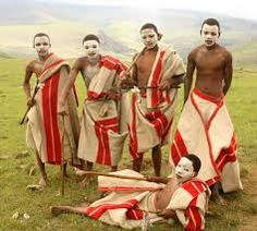 Xhosa initiation school clothing