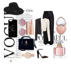 """""""Untitled #173"""" by estersc ❤ liked on Polyvore featuring Joseph, A.L.C., Yves Saint Laurent, Gianvito Rossi, Michael Kors, Lack of Color, claire's, Guerlain and Too Faced Cosmetics"""