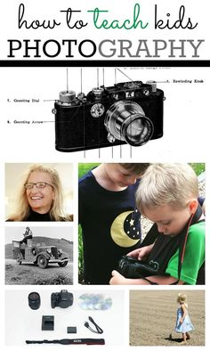 Photography tips to teach your children how to take photos | Ideas on how to teach kids about photography!