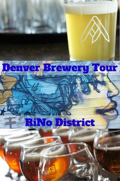 A Denver brewery tour through the RiNo (River North Art District) neighborhood. #Denver #beer #travel