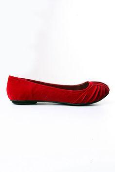 Red Flats make me smile :]