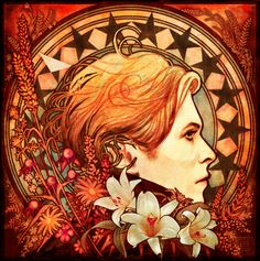 """Bowie """"LOW"""" mucha-style?"""