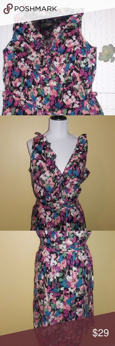 ccb765873ed GAP Floral Shirt Dress Size 18 Perfect for spring and summer versatile  dress is an 18