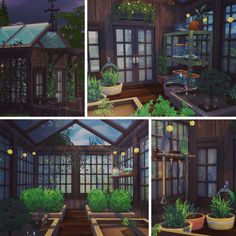 Sims 4 CC's - The Best: The Woodland Witch Cottage (No CC) by femmeonamissionsim. Sims 4 CC's – The Best: The Woodland Witch Cottage (No CC) by femmeonamissionsims Lotes The Sims 4, Sims Four, Sims Cc, Sims 4 House Building, Sims House Plans, Building Plans, Witch Cottage, Witch House, Vampire House
