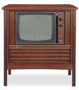 Old transistor CTV