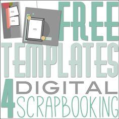 Free Digital Scrapbooking Templates | DigitalScrapper.com