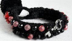 #boho #bohomarijana #bohostyle #bohomania #style #stylish #handmadejewelry #handmade #black #red #redchristmas #🎁 #🎄 #giftforchristmas #giftforher #zagreb #originalgift #crochet #bracelets #key #beautiful #pretty #musthave