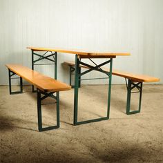 Vintage Beer Garden Table And Bench Sets Http Www Oktoberfesthaus