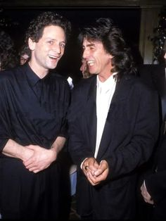 Lindsey Buckingham (The Fleetwood Mac) and George Harrison (..The Beatles) - photo: by © S. Granitz.