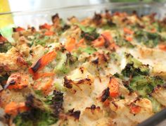 "Pinner says: ""Veggie Casserole - this is soooo good, sooo easy and so low point!!! 1 PP per slice!!"" For me, this looks like an easy, tasty way to get more veggies into my son's (and my!) diet; a great weeknight meal ingredient. Will try it soon!"