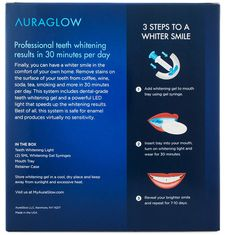 Our Deluxe Home Teeth Whitening System features a powerful blue LED light and a professional grade whitening gel to give you the brightest smile possible.