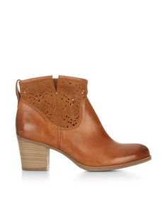 Amberley Lasercut Ankle Boot > Love these Chunky Heel Ankle Boots, Chunky Boots, Brown Ankle Boots, Chunky Heels, Ankle Booties, Bootie Boots, Free Clothes, Short Boots, Monsoon