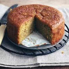 Tangerine Almond Cake from Seven Spoons - Get the best of Spring's citrus in this spongy and moist cake. Found at www.edamam.com.