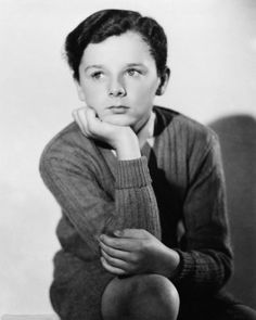 FB / One of the most famous child actors of all time, he became very popular in 1930s. Freddie Bartholomew