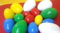 Play doh Surprise eggs, kinder surprise eggs for disney princess, toy story 3