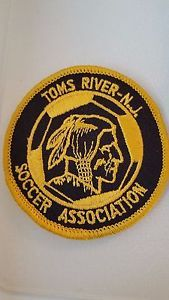 Vintage 80s 90s Soccer Patch Toms River Ocean County  NJ New Jersey Buy It Now !  | eBay