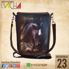 #Bolso Equino 23 #CUERO Con acolchado interno Grande 26x23x7cm Mediano 22x19x7cm