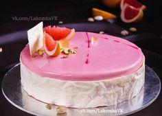 торт грейпфрут-малина