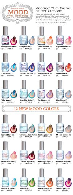Color Changing Gel polishes. I have had several of these and I love them