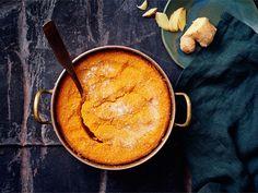 Bataatti-porkkanalaatikko   Valio Bon Appetit, Cornbread, Thai Red Curry, Ethnic Recipes, Food, Xmas, Millet Bread, Essen, Christmas