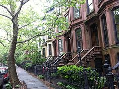 Where Should You Live In New York City~~~Park Slope is usually caricatured as a neighborhood full of yuppies with small children, well, to some extent that's true. It's a lovely, well-rounded safe area, an ideal place to settle down. (It was ranked the best neighborhood in the city by New York Magazine.) There's plenty of restaurants, cool little shops, as far as parks in NYC go, Prospect Park is second only to Central Park. Also recommended: Gowanus, Windsor Terrace, Sunset Park.