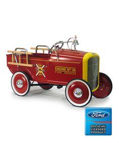 1932 Fire Engine Pedal Car