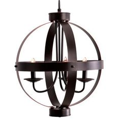 Catalina Lighting 3 Light Candle-Style Chandelier