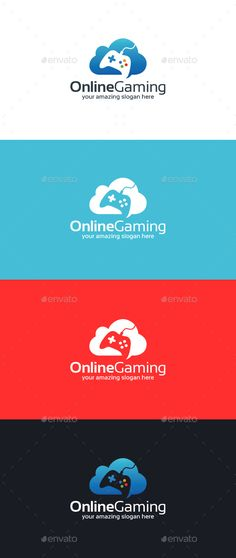 Online Gaming Logo Template — Vector EPS #online games #arcade • Available here → https://graphicriver.net/item/online-gaming-logo-template/15149006?ref=pxcr