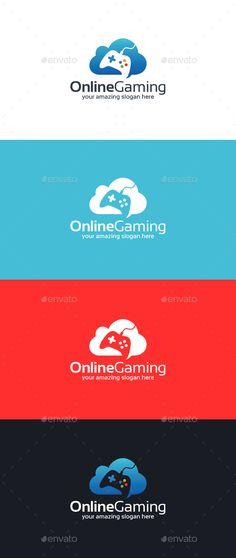 Online Gaming Logo Template