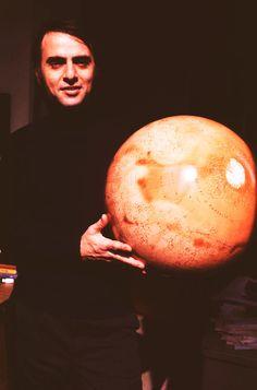 Carl Sagan and Mars