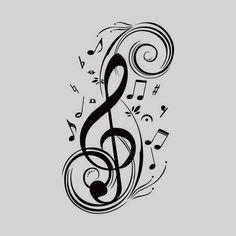 Beat Note music wall art stickers,vinyl wall stickers music decor,Graphic Art musical home decoration black Music Notes Art, Music Wall Art, Music Tattoo Designs, Music Tattoos, Vinyl Paper, Vinyl Art, Vinyl Music, Removable Wall Decals, Wall Stickers Murals