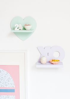 Top Shelf: V-Day Mini DIY Shelves for Under $5
