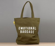 Tote bag by The School of Life. Emotional Baggage