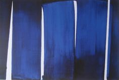 Dexedrine: Pierre Soulages (blue and black)