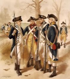 I had several ancestors in the Revolutionary War. Many grandparents, some of whom fought with my 5th great uncle George Washington. Learn the history of the harrowing trials they endured as they fought for freedom....then pray for our Constitution to stay strong.