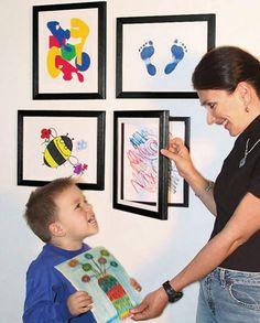 Another cute way to display kids artwork! Lil DaVinci Art Cabinet This… Art Cabinet, Art For Kids, Kid Art, Framed Art, Kids Room, Art Gallery, Gallery Frames, Gallery Walls, Kid Bedrooms